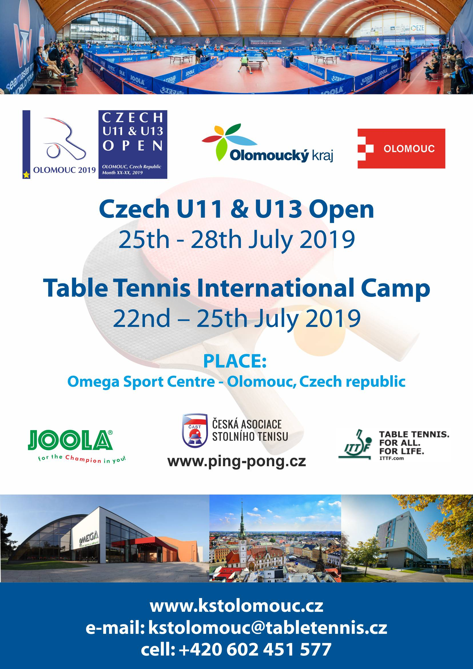 Table Tennis International Camp